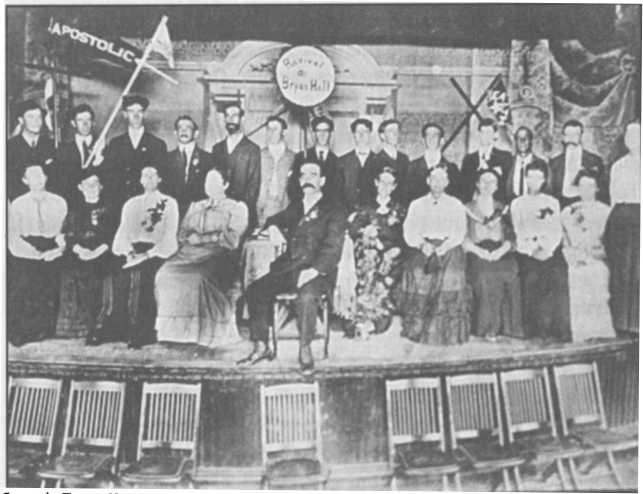 Đội truyền giảng, Houston, Texas, 1905