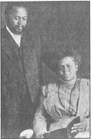William J. Seymour và vợ Jennie Evans