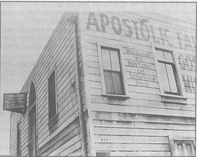 Apostolic Faith Mission, 312 Đường Azusa, Los Angeles, California
