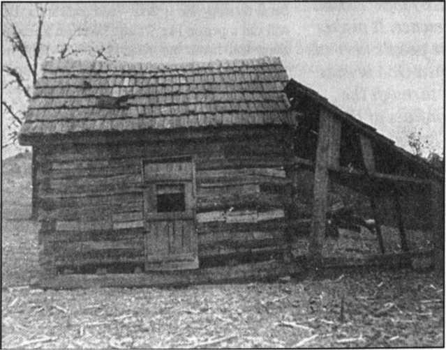 Căn nhà gỗ/ nơi sinh của Branham gần Berksville, Kentucky